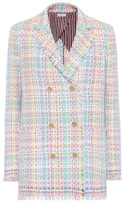 Thom Browne Cotton-blend tweed blazer