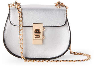 Popatu (Girls 4-6x) Silver Fashion Chain Bag