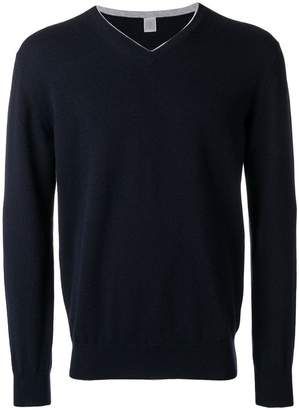 Eleventy v-neck knit jumper