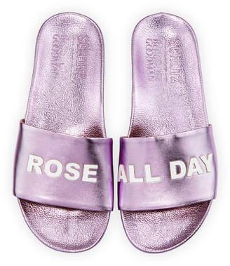 Schutz Rose All Day Slide Sandal