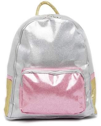 CURLS & PEARLS Big Glitter Backpack