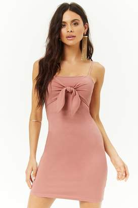 Forever 21 Tie-Front Mini Dress