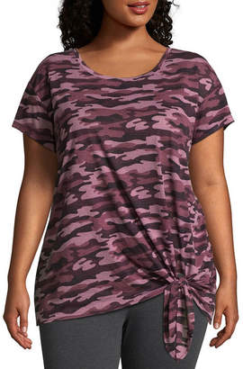 Xersion Front Tie Tee - Plus