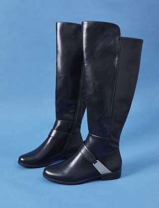 Lane Bryant Over-the-Knee Boot with Metal Harness Hardware