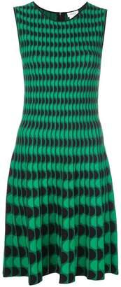 Akris Punto wave pattern dress