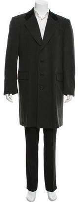 Battistoni Wool Cashmere Blend Top Coat