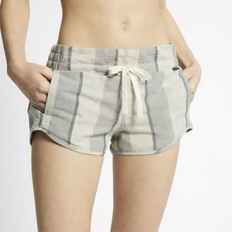 Nike Women's Striped Shorts Hurley Beach