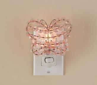 Pottery Barn Teen Crystal Butterfly Nightlight