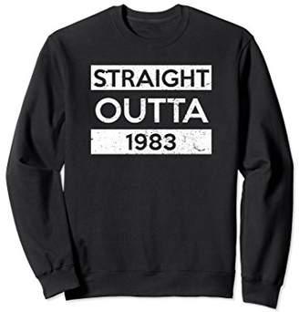 35th Birthday Sweatshirt Funny Age 35 For Born In 1983