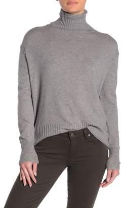 Abound Solid Turtleneck Dolman Sweater