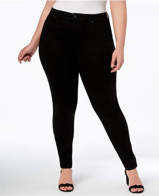 INC International Concepts I.n.c. Plus and Petite Plus Size Tummy Control Beyond Stretch Skinny Jeans