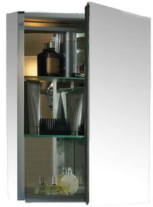 "Kohler 20"" x 26"" Aluminum Medicine Cabinet with Mirrored Door"