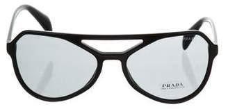 Prada Tinted Aviator Sunglasses w/ Tags