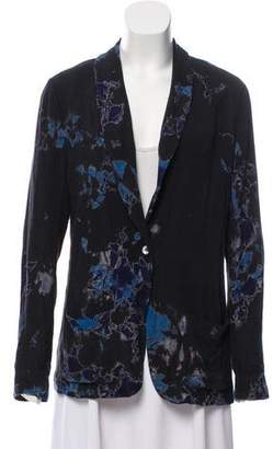 Raquel Allegra Printed Silk Jacket
