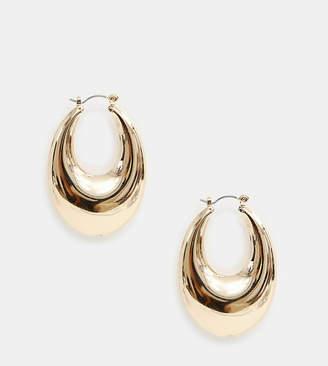Liars & Lovers chunky gold hoop earrings