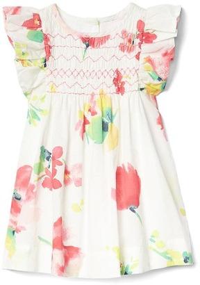 Floral flutter smock dress $34.95 thestylecure.com