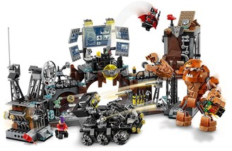 Lego Super Heroes Super Heroes 76122 Batcave Clayface Invasion Toys