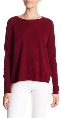Minnie Rose Long Raglan Sleeve Cashmere Sweater