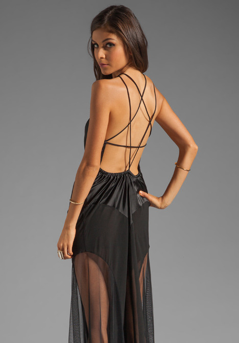 UNIF Ritual Pentagram Back Dress