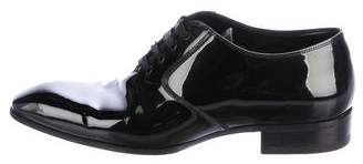 Tom Ford Patent Leather Tuxedo Oxfords