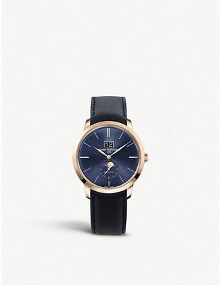 Girard Perregaux Girard-Perregaux 49556-52-1832BB4A 1966 pink-gold and leather manual watch