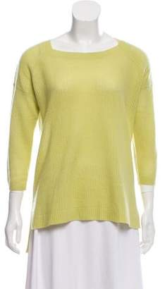 White + Warren Cashmere High-Low Sweater