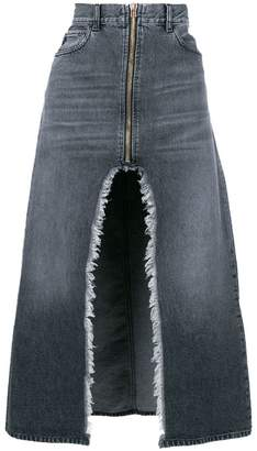 Marcelo Burlon County of Milan Denim long skirt