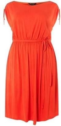 Dorothy Perkins Womens **DP Curve Coral Jersey Midi Dress