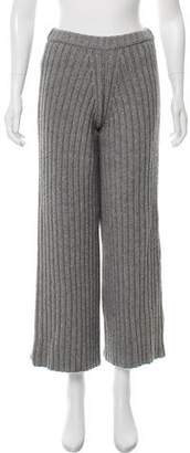 Prabal Gurung Mid-Rise Knit Pants