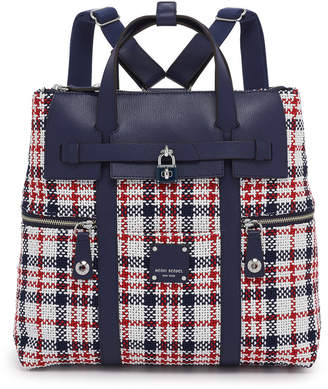Henri Bendel Jetsetter Convertible Plaid Backpack