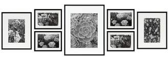 Bronx Ivy Giltner 7 Piece Gallery Wall Aluminum Picture Frame Set