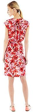 JCPenney Joe FreshTM Belted Print Pocket Dress