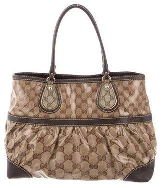 860f19b129f9 Gucci Brown Leather Duffels & Totes For Women - ShopStyle Canada