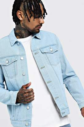 boohoo Regular Denim Western Jacket