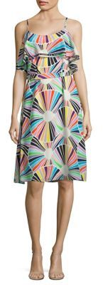 Trina Turk Haute Havana Isabel Silk Dress $348 thestylecure.com