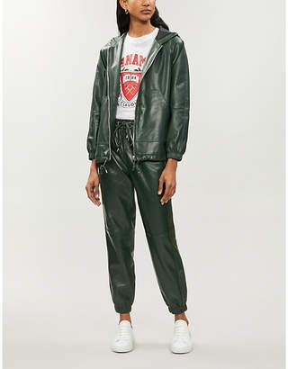 Claudie Pierlot Christen leather jacket