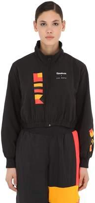 Reebok Classics Gigi Hadid Cropped Track Jacket
