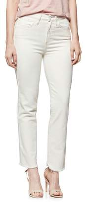 Paige Hoxton High Waist Ankle Straight Jeans