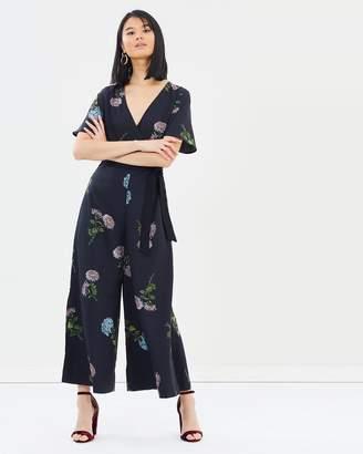 Oasis NHM Floral Print Jumpsuit
