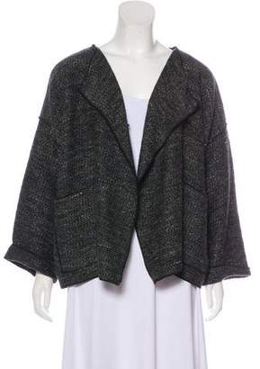 eskandar Virgin Wool Oversize Cardigan