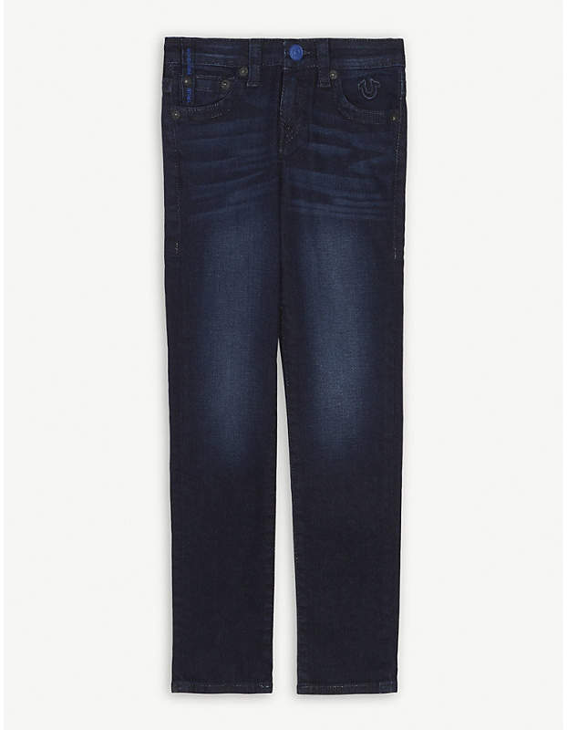 True Religion Rocco skinny-fit stretch-cotton jean 8-16 years