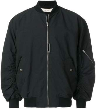 Damir Doma gathered sleeve bomber jacket