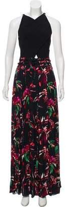 Proenza Schouler Sleeveless Silk Maxi Dress