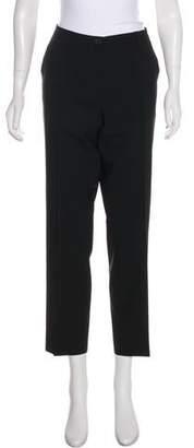 Rene Lezard Wool Mid-Rise Pants