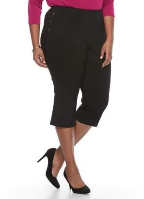 Dana Buchman Plus Size Sailor Capri Pants