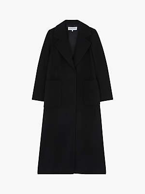 Missy Long Coat, Mid Brown