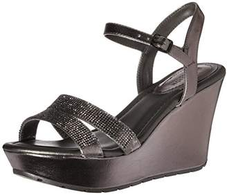 Kenneth Cole REACTION Women's Sole Sparkle Espadrille Wedge Sandal $19.65 thestylecure.com
