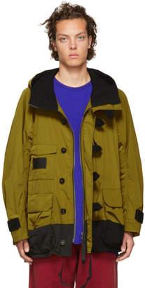 Ziggy Chen Yellow Hoodie Coat