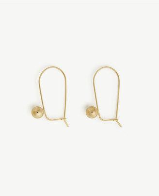 Wire Drop Earrings $34.50 thestylecure.com