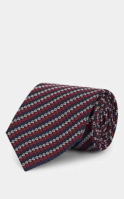 4f7a53f63ccf Gucci Men s GG Silk Jacquard Necktie - Navy
